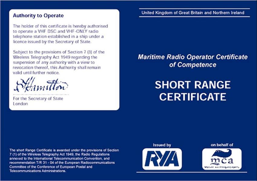 VHF Radio Refresher - SRC Short Range Certificate