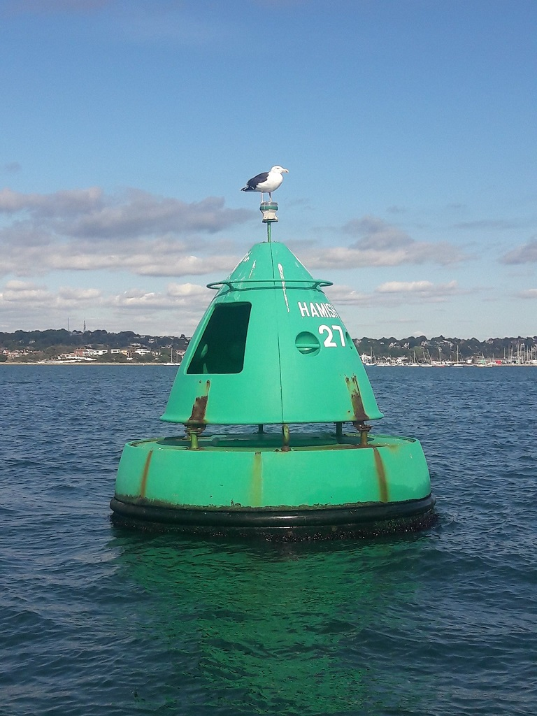 Starboard Lateral Buoy and navigation mark